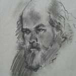 CJA Portrait study 51 (11X8 inches)