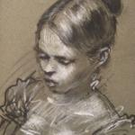 CJA portrait study 263 (1976)