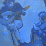 cja-figure-oil-study-3-with-guitarist-monochrome